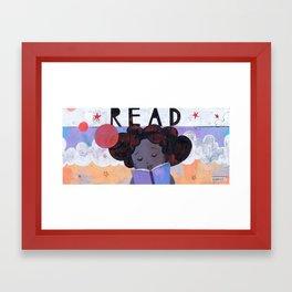 READ Framed Art Print