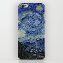 THE STARRY NIGHT - VAN GOGH iPhone Skin