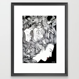 MIND'S EXTASY Framed Art Print