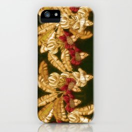 Bananas Heart Blossom iPhone Case