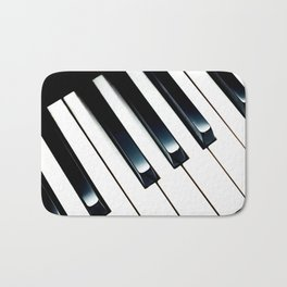 Piano Keys II Bath Mat