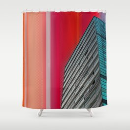 Gran Via Bcn Shower Curtain