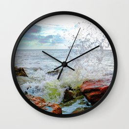 Texas Coast Wall Clock