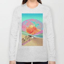Hibiscus Beach Long Sleeve T-shirt