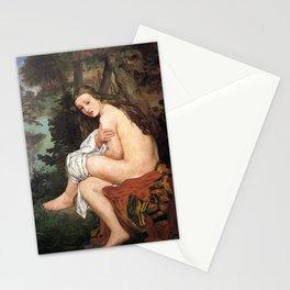 Edouard Manet - La Nymphe surprise Stationery Cards