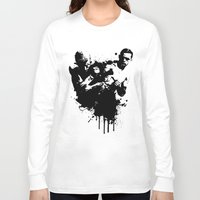fight Long Sleeve T-shirts featuring fight by DIVIDUS