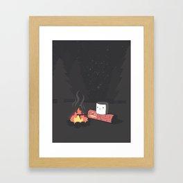 'Mallow Bonfire Framed Art Print