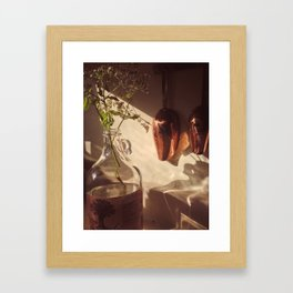 Coppery Framed Art Print