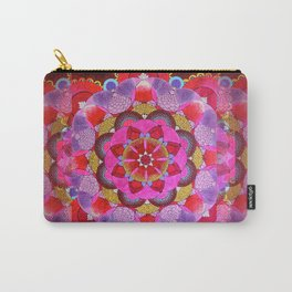 Mandala Opening Carry-All Pouch