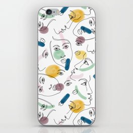 Female Portraits #society6 #figurative iPhone Skin
