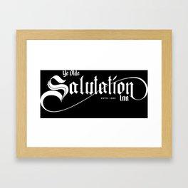 Ye Olde Salutation Inn Framed Art Print