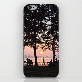 sunset - westlake iPhone Skin