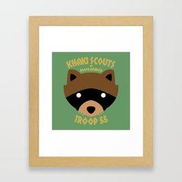 Camp Ivanhoe Framed Art Print
