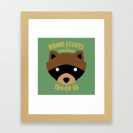 Camp Ivanhoe Framed Art Print