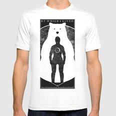 The Bear Mens Fitted Tee White MEDIUM