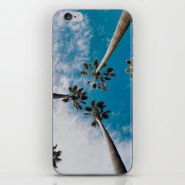 Palm Tree Sky iPhone Skin