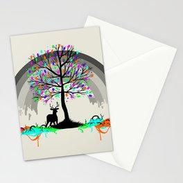 Melting Colors Parasite Stationery Cards