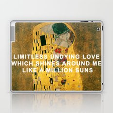 The Kiss Across the Universe Laptop & iPad Skin