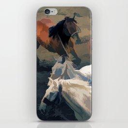 Breaking Away   -  Wild Horses iPhone Skin
