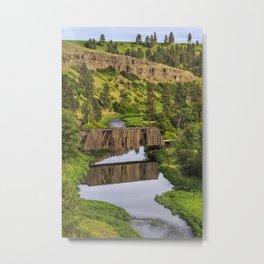 Manning-Rye Bridge Metal Print