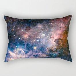 Carina Nebula's Hidden Secrets Rectangular Pillow