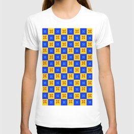 flag of new mexico 8 - with inverted colors T-shirt