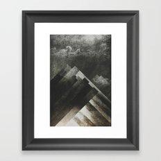 Mount everest and me Framed Art Print