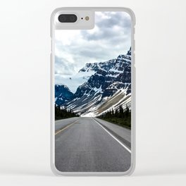 Into the Mountains Clear iPhone Case