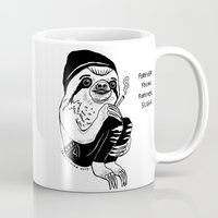forever young Mugs featuring FOREVER YOUNG by Shaltmira