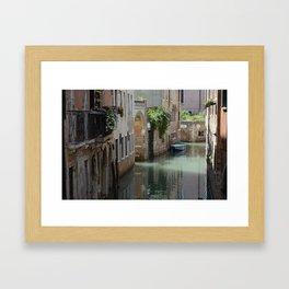 Venetian Side Street Framed Art Print
