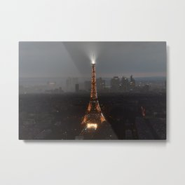 Paris - Eiffel Tower Metal Print