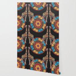 Giraffes of Cura Wallpaper