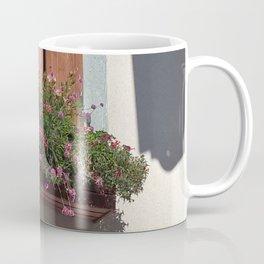 Alpine Village Window Flower Box Coffee Mug