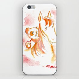 It's Never Too Late to Get Back On The Horse iPhone Skin