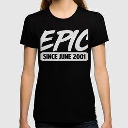 June 2001 18th Birthday T-shirt