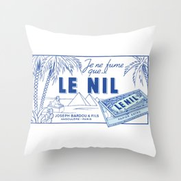 LE NIL rolling papers Throw Pillow