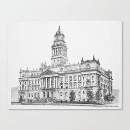 Wayne County Court House | Detroit Michigan Canvas Print
