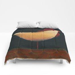 Folk Rooster Comforters