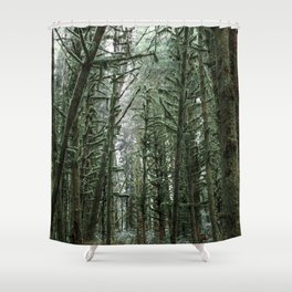 Into the Forest x Oregon Coast Shower Curtain