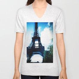 Just Awaking (Paris, Tour de Eiffel) Unisex V-Neck