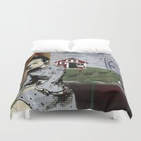 poland Duvet Covers featuring My summer in Poland by JulieAaland