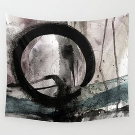 Enso Of Zen No.4M by Kathy Morton Stanion Wall Tapestry