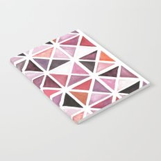 Geometric watercolor Notebook
