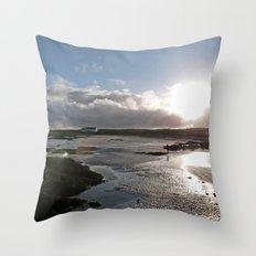 Connemara Coast #4 Throw Pillow