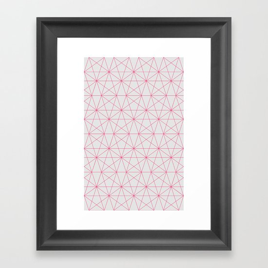 connections Framed Art Print