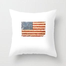 F Trump  - cadet bone spurs  Throw Pillow