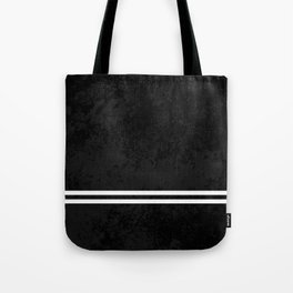 Infinite Road - Black And White Abstract Tote Bag