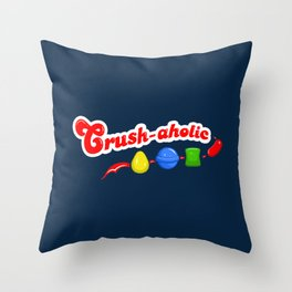 Crush-aholic Throw Pillow
