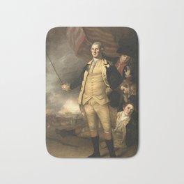 General Washington at the Battle of Princeton Bath Mat