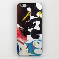 nirvana iPhone & iPod Skins featuring NIRVANA/FELIX by Brandon Neher